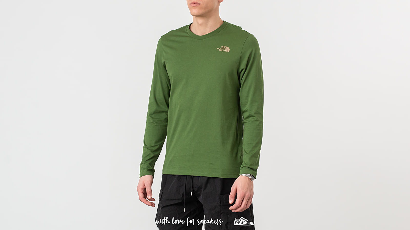 The North Face Long Sleeve Easy Tee Garden Green za skvelú cenu 37 € kúpite na Footshop.sk