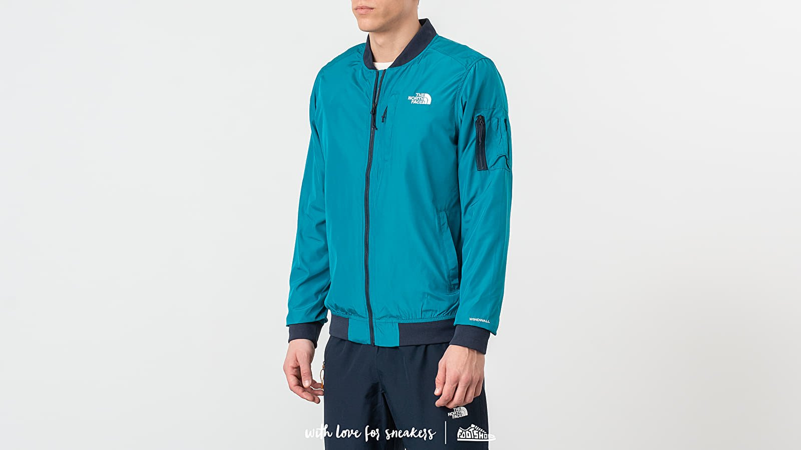 The North Face Meaford Bomber Crystal Teal za skvelú cenu 110 € kúpite na Footshop.sk