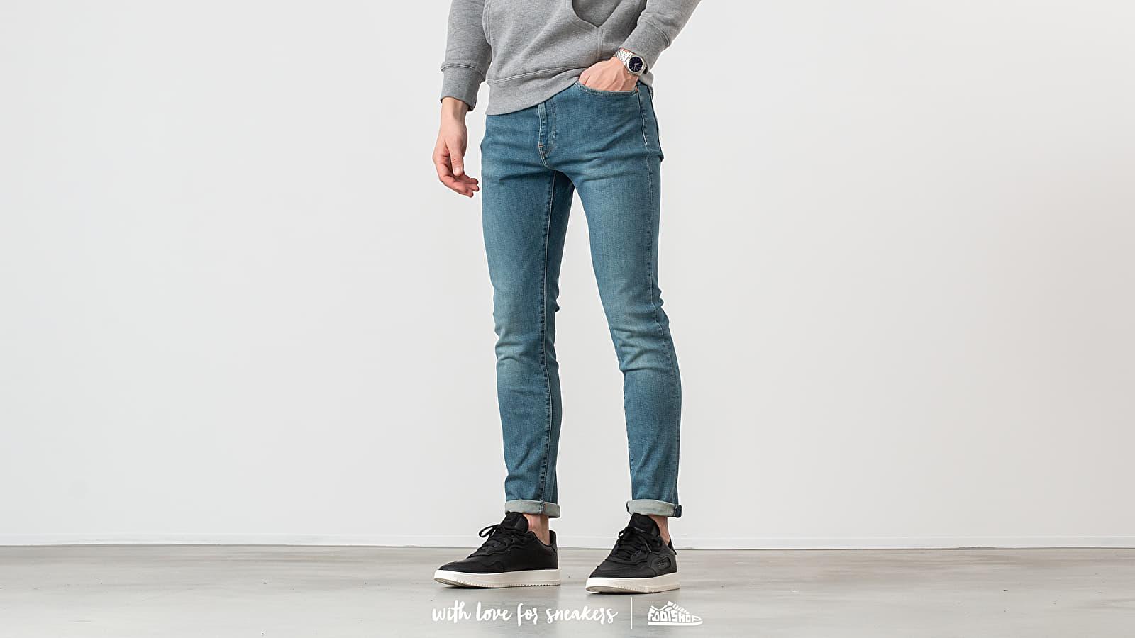 Džíny a kalhoty Levi's® 510 Skinny Fit Jeans Blue Denim