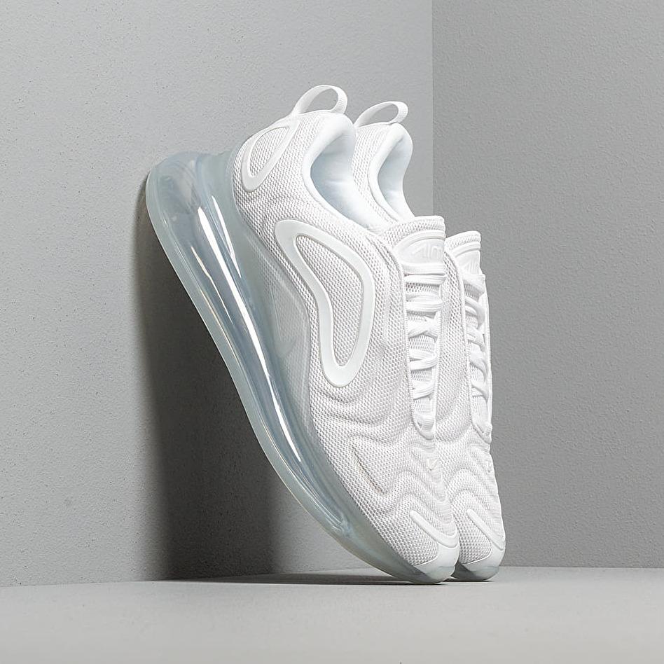 Nike Air Max 720 White/ White-Mtlc Platinum EUR 44
