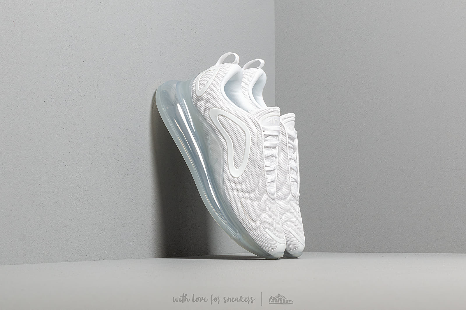 Nike Air Max 720 White White Mtlc Platinum | Footshop