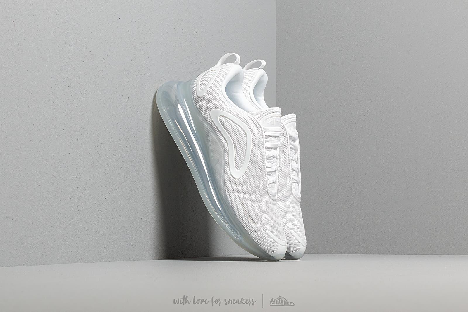 Ανδρικά παπούτσια Nike Air Max 720 White/ White-Mtlc Platinum