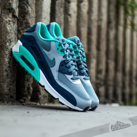 Nike Air Max 90 Essential Blue Graphite Wolf Grey | Footshop