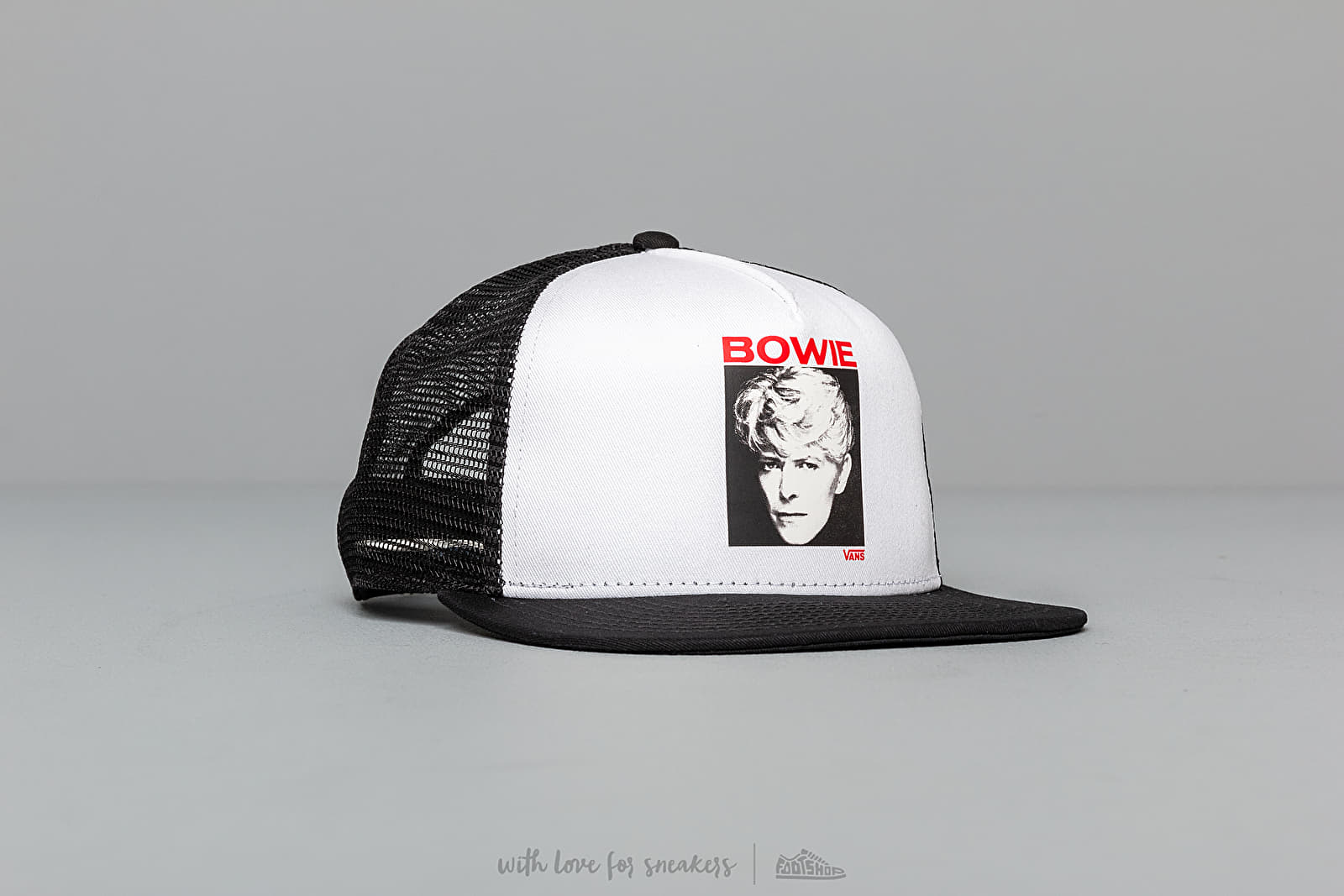Vans David Bowie (Serious Moonlight) Trucker White/ Black at a great price 29 € buy at Footshop