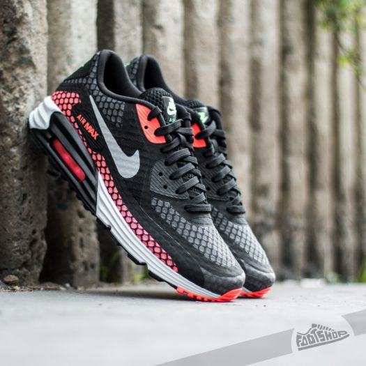 Atlas roble Marquesina  Men's shoes Nike Air Max Lunar90 BR Black/ Silver-Hot Lava | Footshop