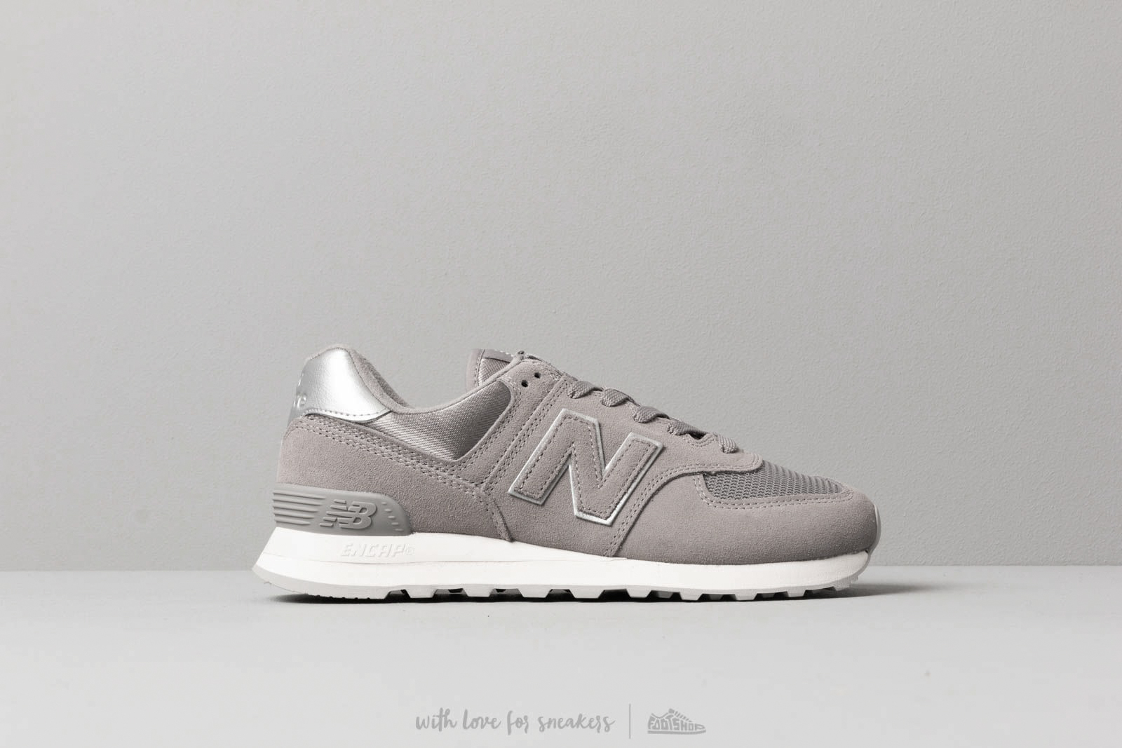 a8b3d5e9ee8 New Balance 574 Grey  White at a great price £76 buy at Footshop