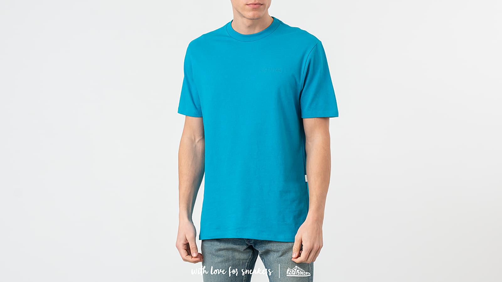 Тениски Aimé Leon Dore Logo Tee Navigate Blue