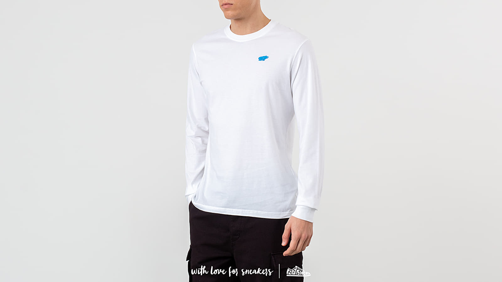 Pólók Karhu Air Cushion Long Sleeve Tee White