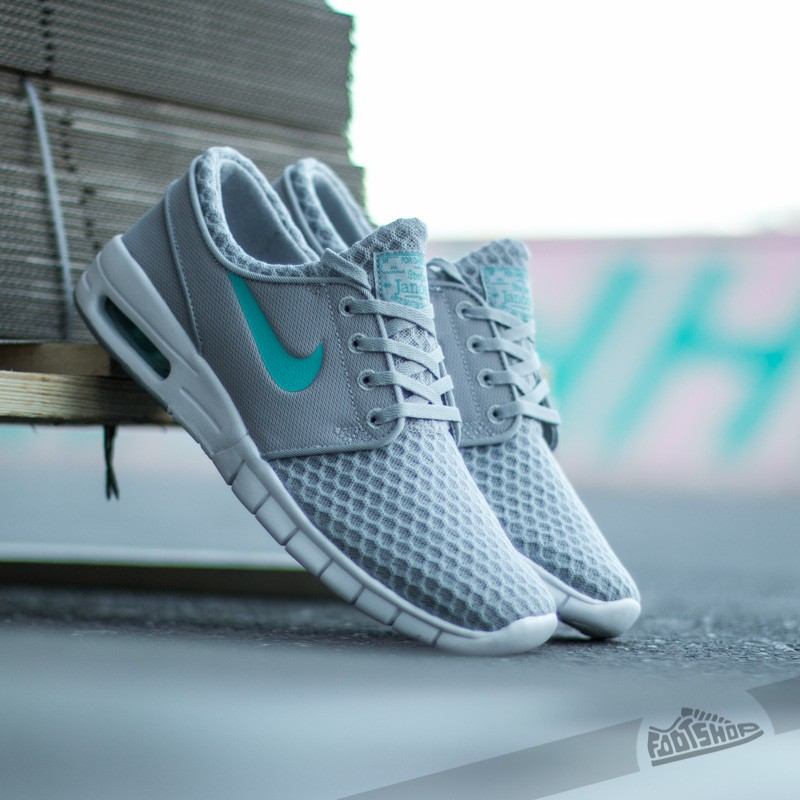 new styles ae187 764b0 Nike Stefan Janoski Max. Wolf Grey  Light Retro White