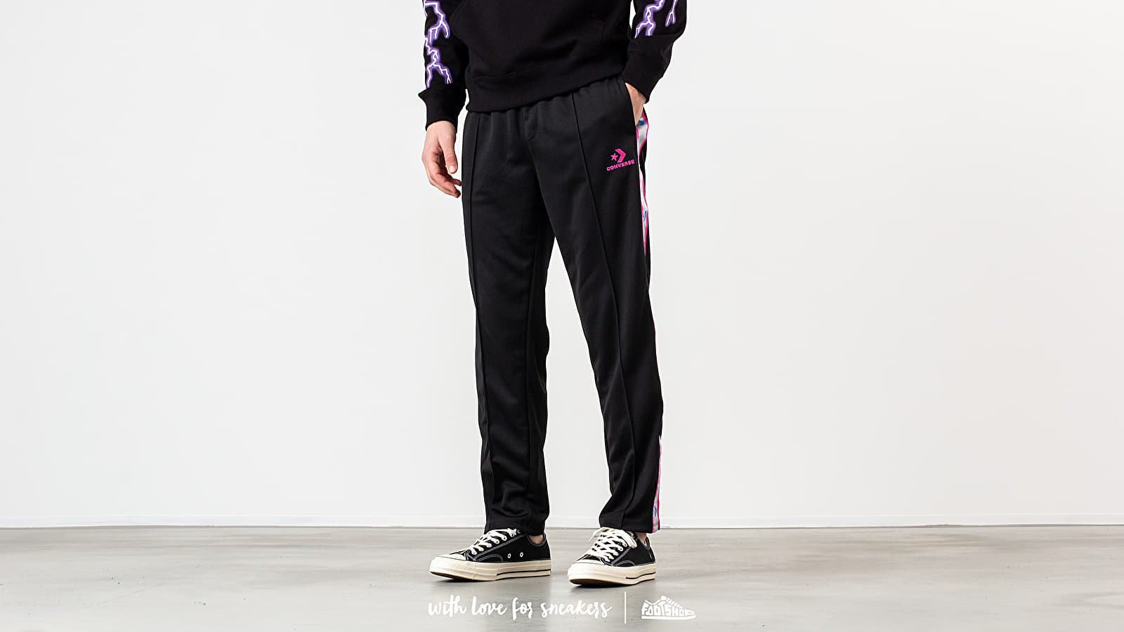 Converse Metallic Tape Star Chevron Track Pant