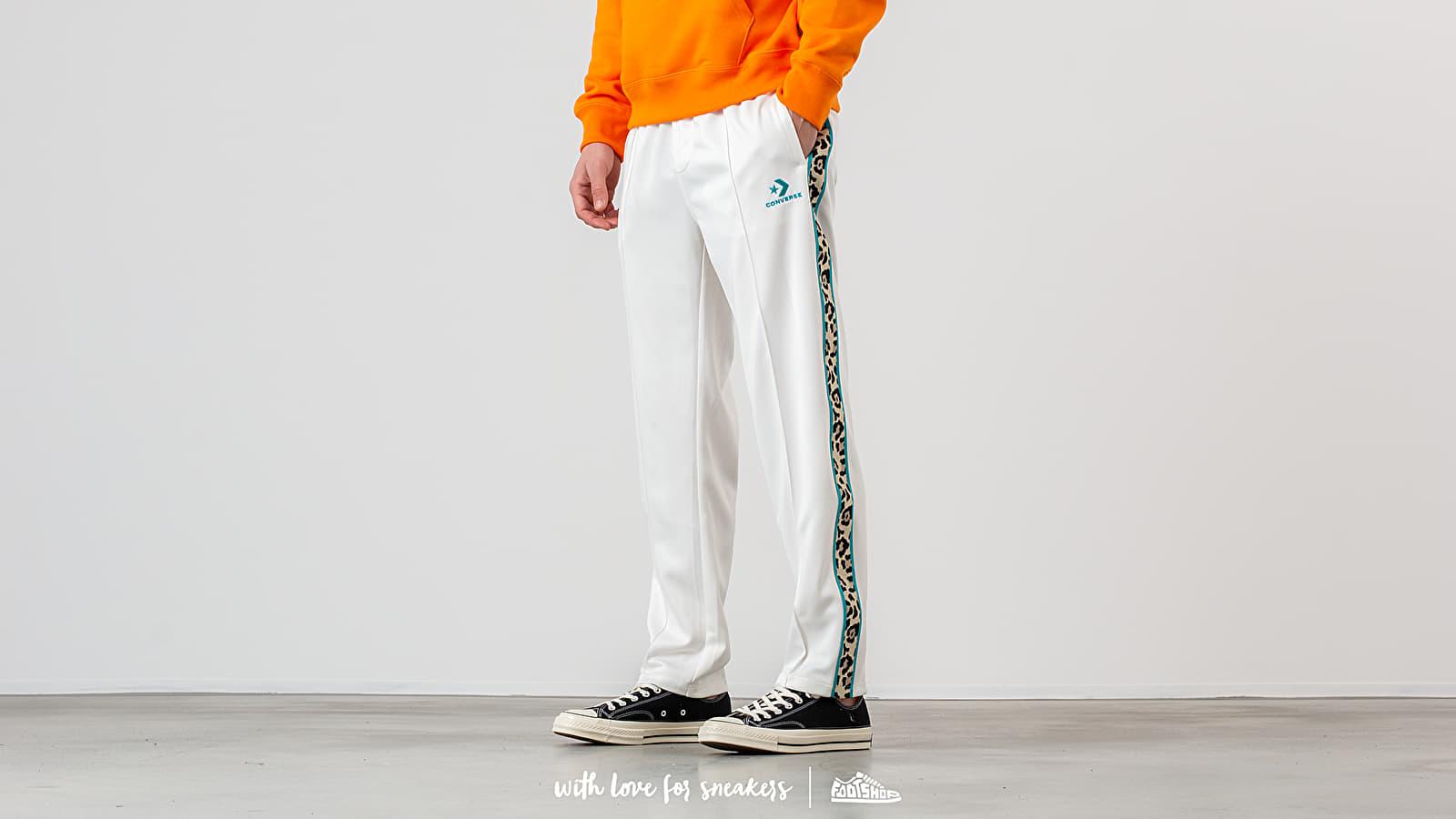 Džíny a kalhoty Converse Colored Star Chevron Track Pants Egret