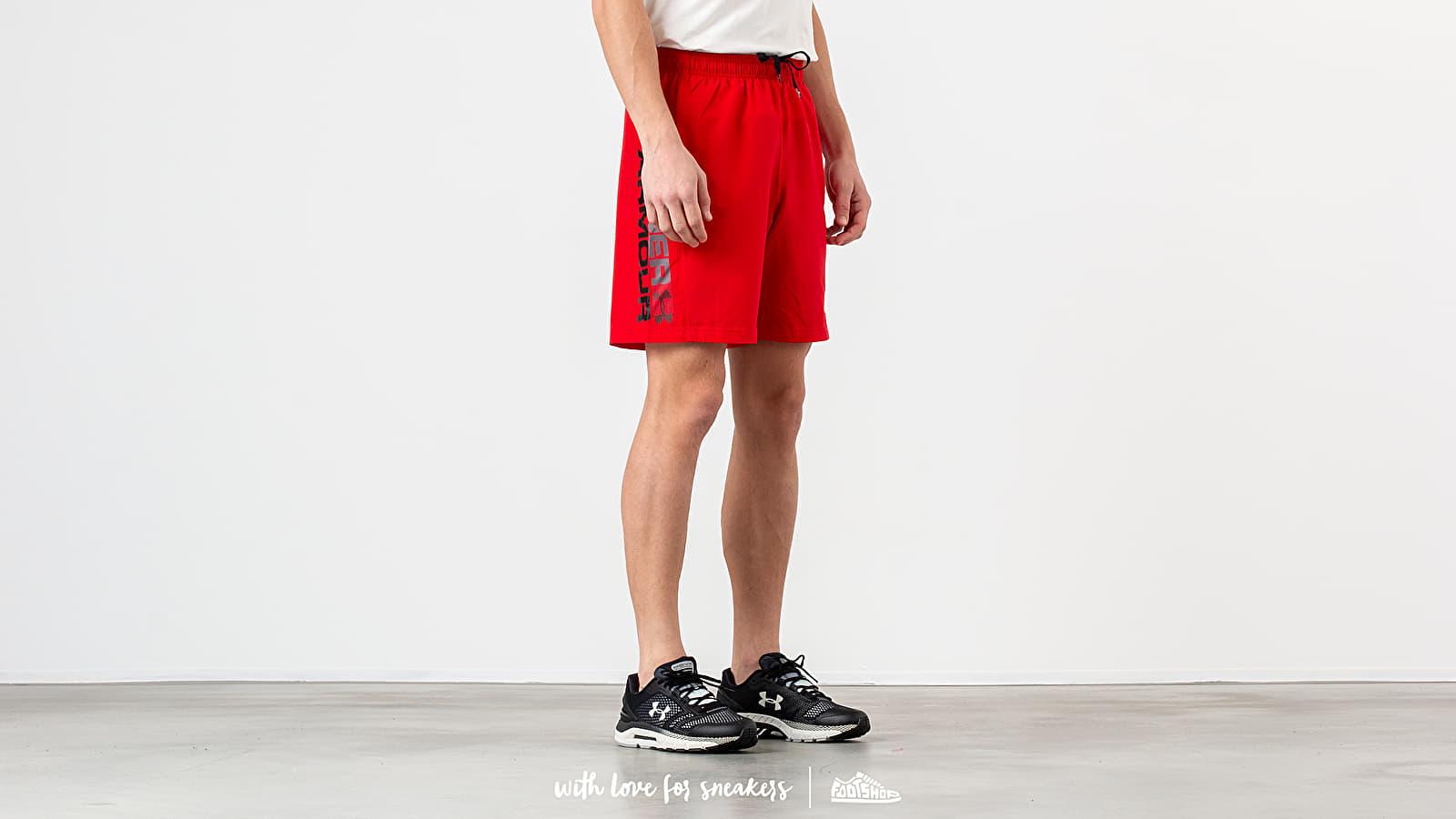 Under Armour Woven Graphic Wordmark Shorts Red nagyszerű árakon 8 061 Ft vásárolj a Footshopban