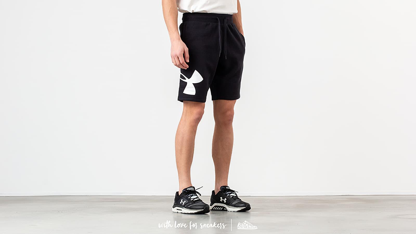 Under Armour Rival Fleece Logo Short Black nagyszerű árakon 13 099 Ft vásárolj a Footshopban