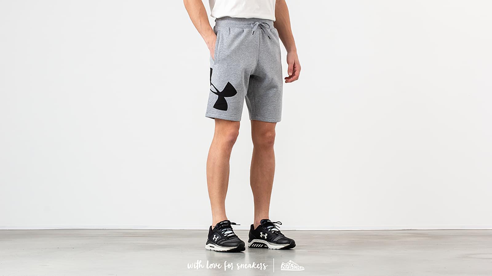 Under Armour Rival Fleece Logo Short Grey nagyszerű árakon 13 099 Ft vásárolj a Footshopban