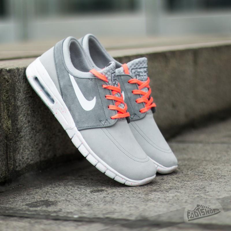 Esperar Varios pedestal  Men's shoes Nike Stefan Janoski Max L Wolf Grey/White/HotLav   Footshop