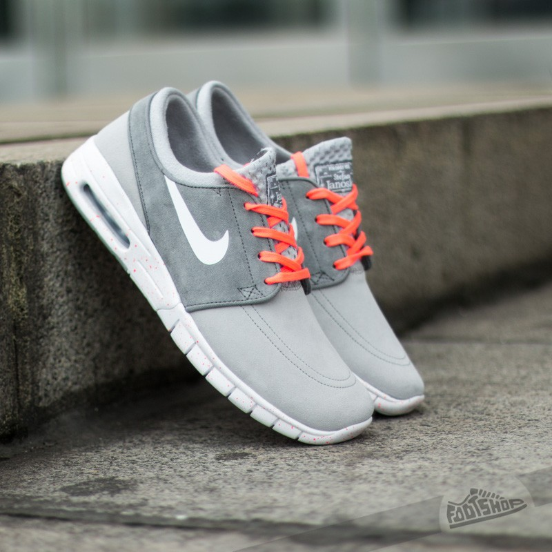 finest selection dcee6 12575 Nike Stefan Janoski Max L Wolf Grey White HotLav