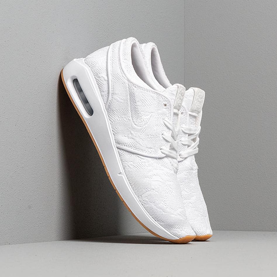 Nike Sb Air Max Janoski 2 White/ White-Gum Yellow