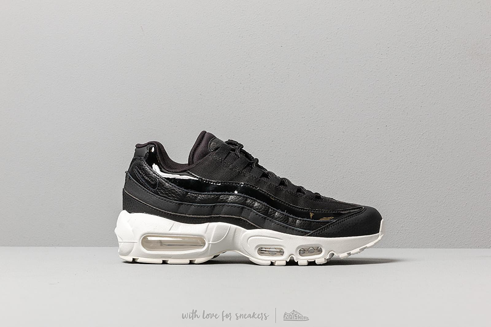 c7712b87c851b Nike Wmns Air Max 95 Se Black/ Black-Summit White-Platinum Tint ...