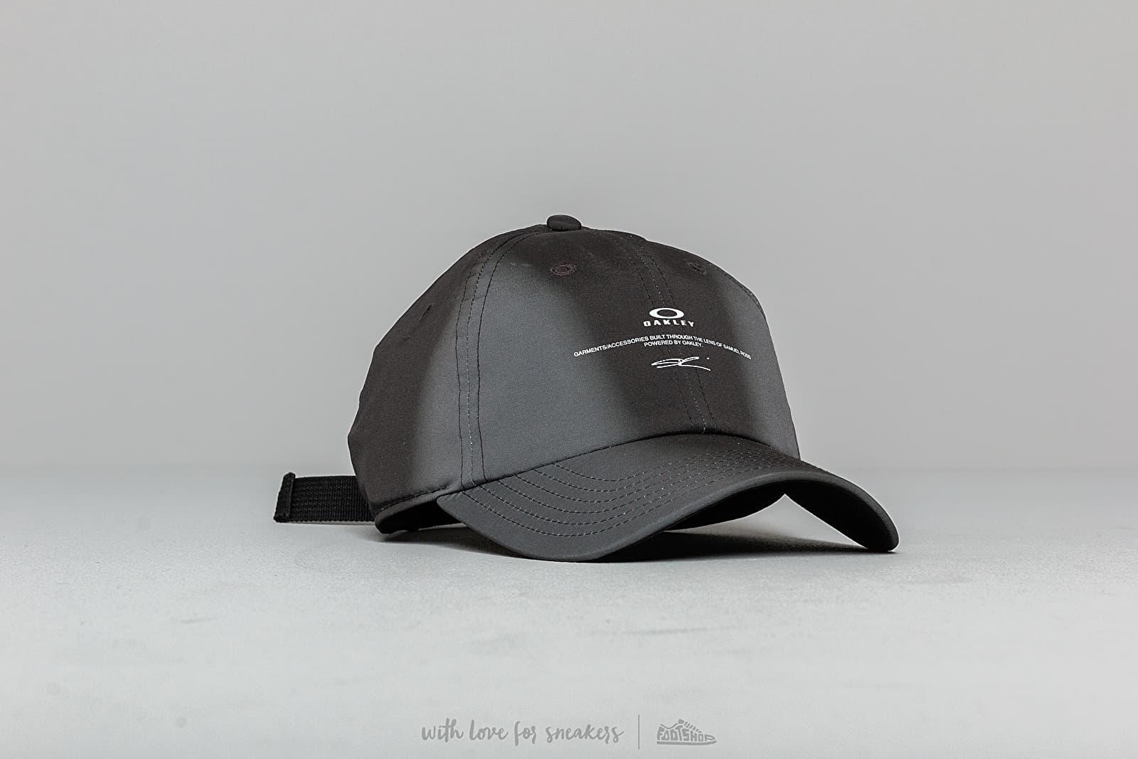 f8a07698eae Oakley by Samuel Ross Spray Printed Hat Blackout   Footshop