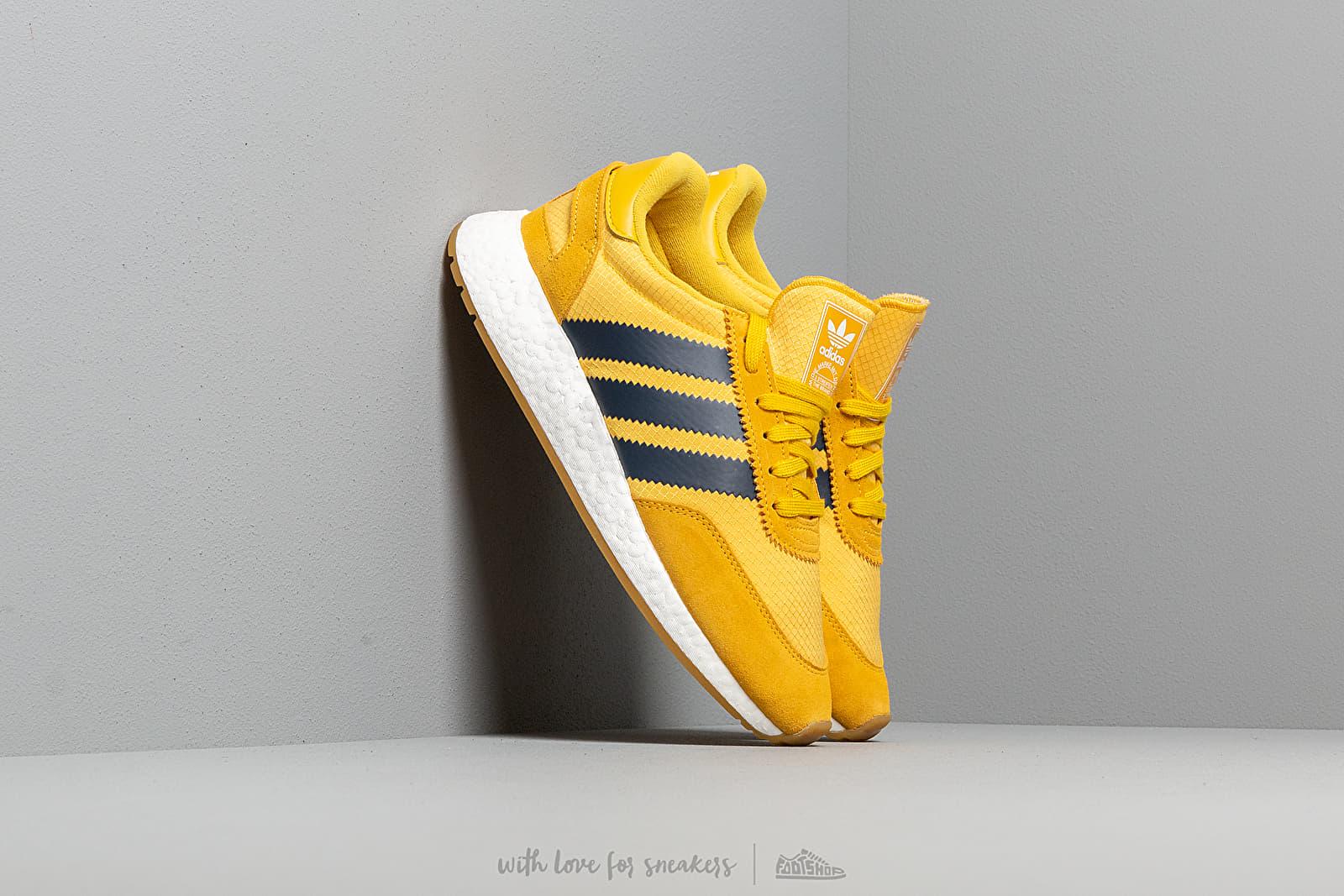Men's shoes adidas I-5923 Tricky Yellow/ Navy Indigo/ Gum3