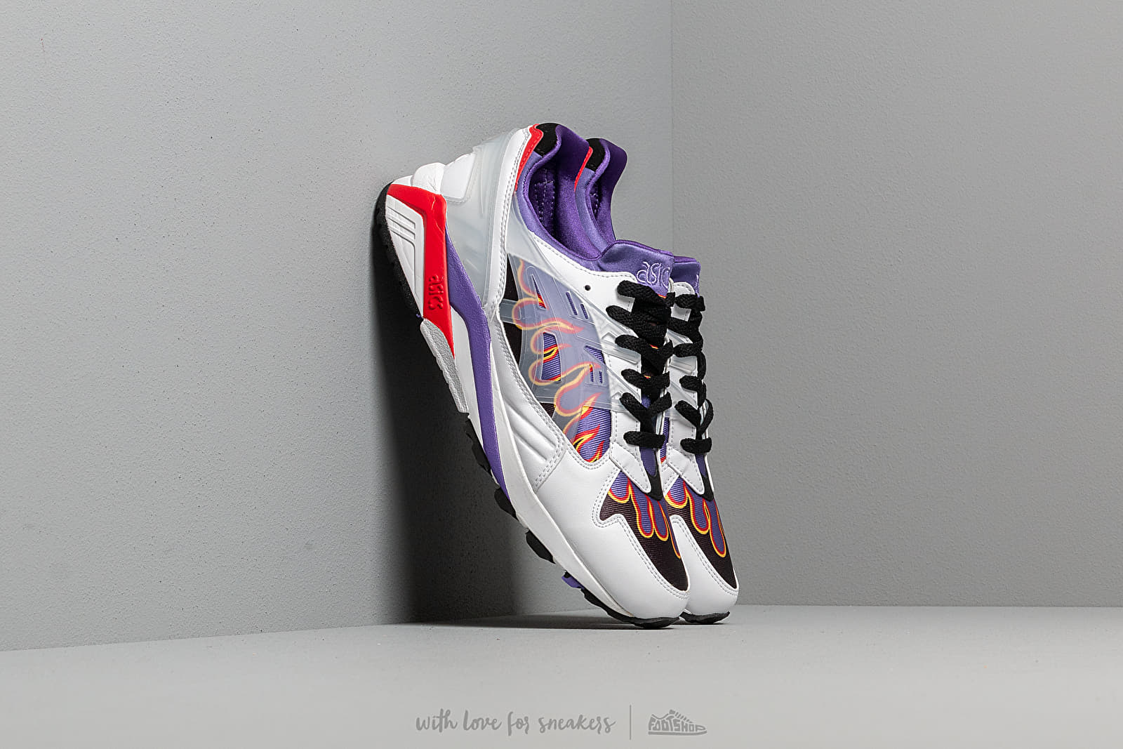 "Asics x Sneakerwolf Gel-Kayano Trainer ""Anarchy in the Edo Period"" White/ Clear"