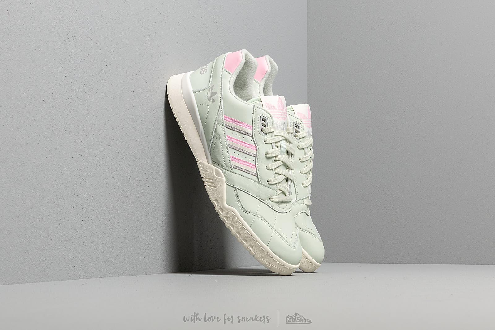 Pánské tenisky a boty adidas A.R. Trainer Linen Green/ True Pink/ Off White