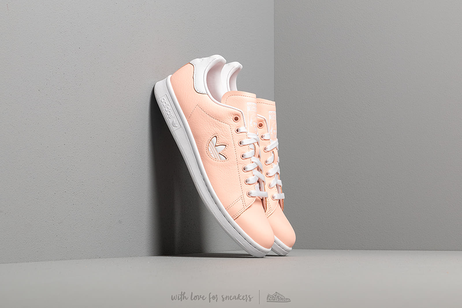 Frauen adidas Stan Smith W Clear Orange/ Ftw White/ Clear Orange