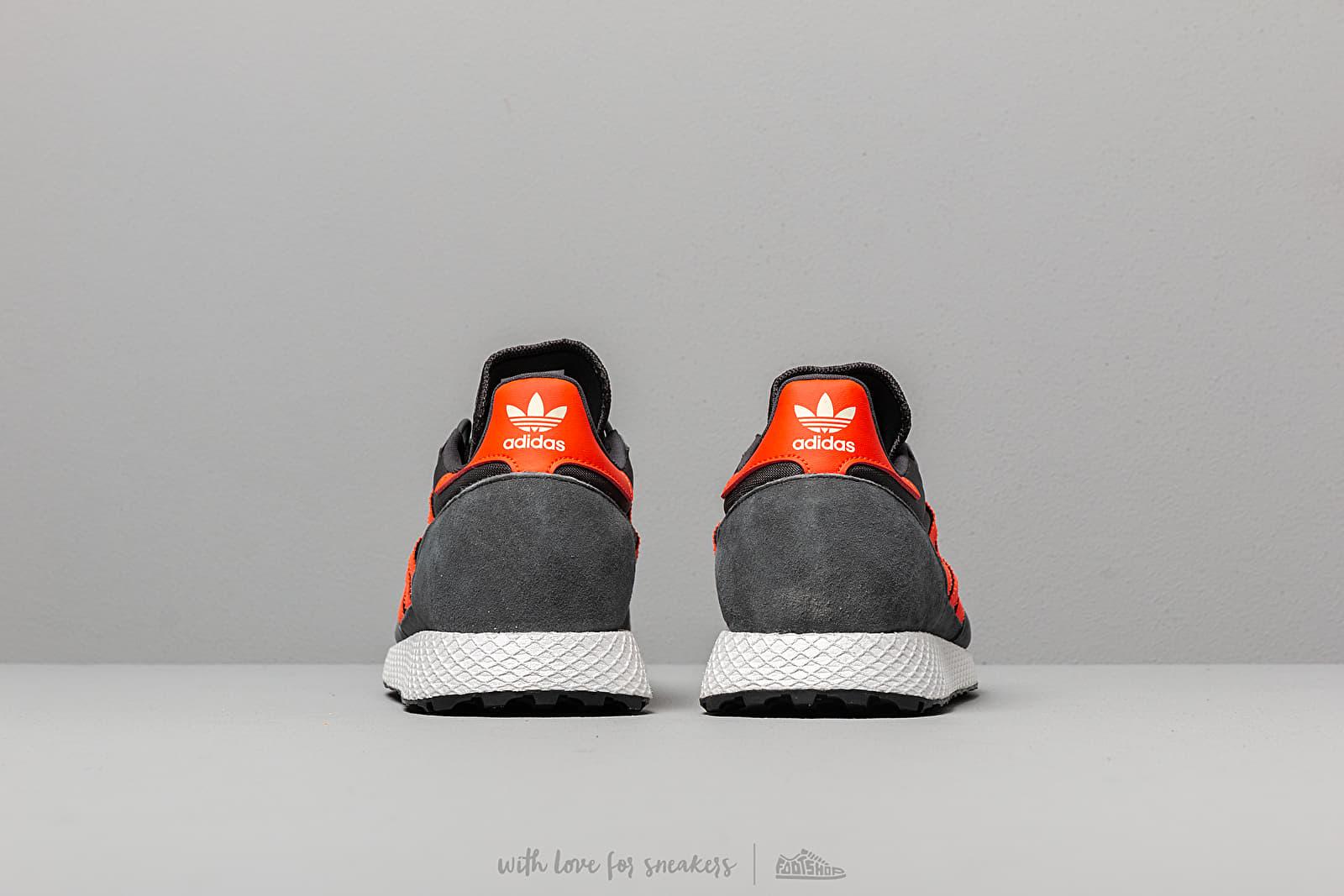 adidas Forest Grove Carbon Active Orange Easy Yellow | Footshop