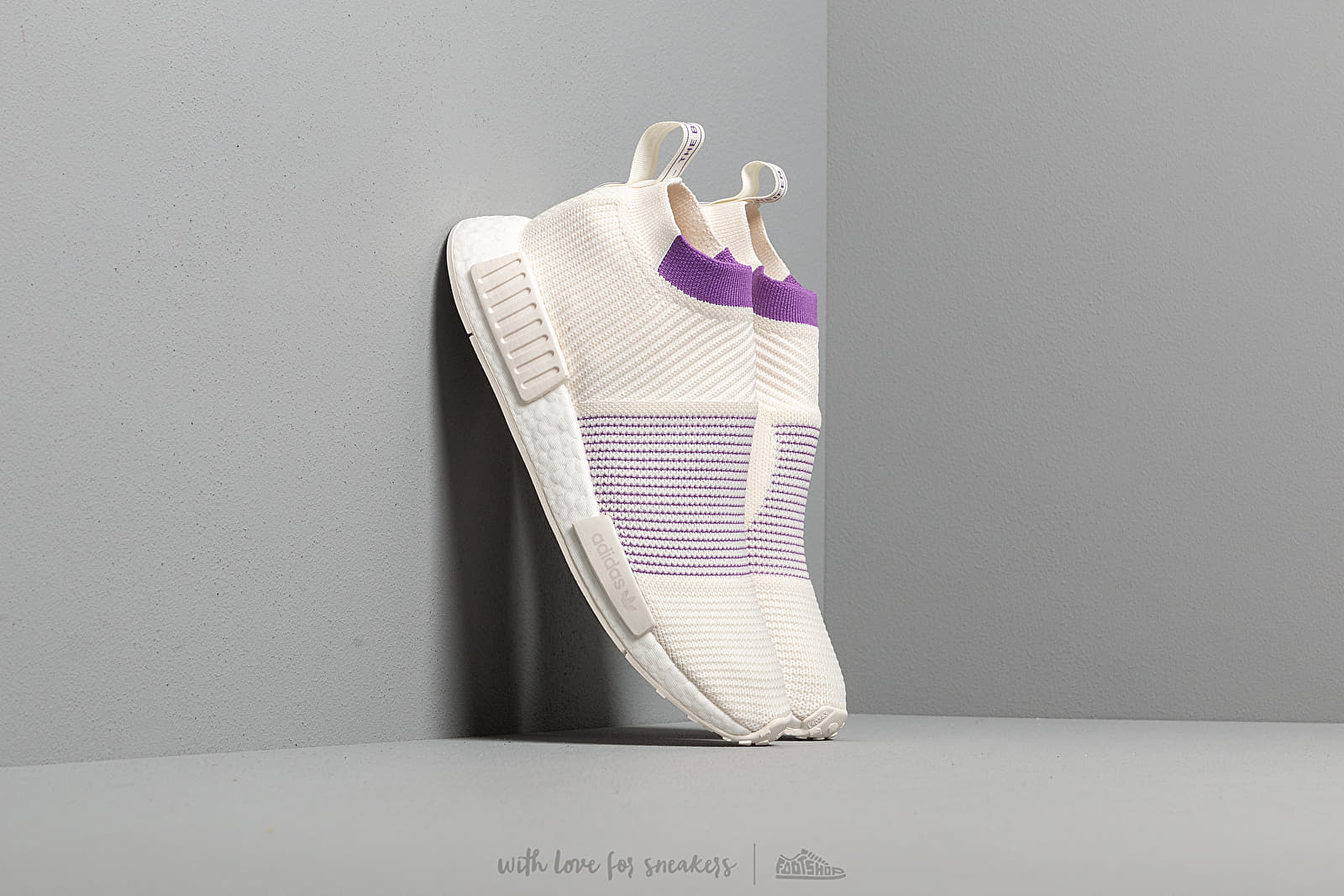 adidas NMD_CS1 PK W Cloud White/ Crystal White/ Active Purple at a great price $206 buy at Footshop