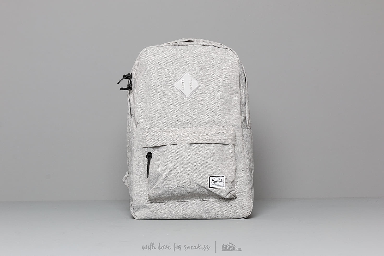 Herschel Supply Co. Heritage Backpack Light Grey Crosshatch at a great price 68 € buy at Footshop
