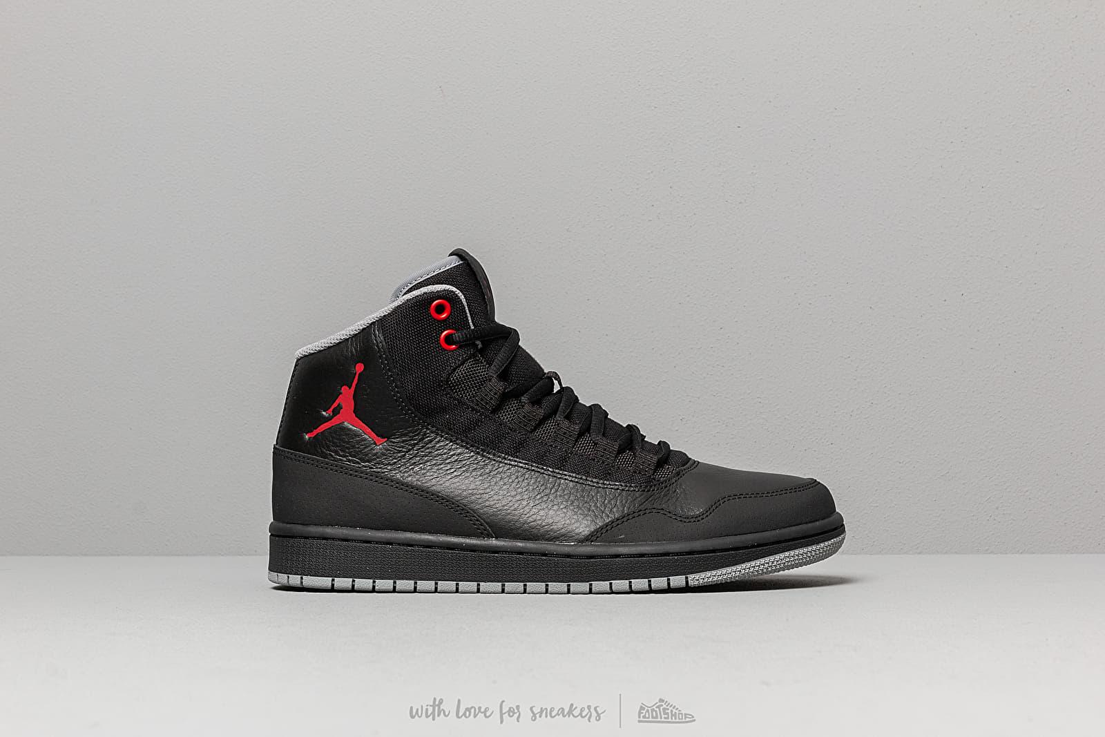 best sneakers 9bd97 cc8fa Jordan Executive Black  Gym Red-Particle Grey au meilleur prix 103 € Achetez  sur