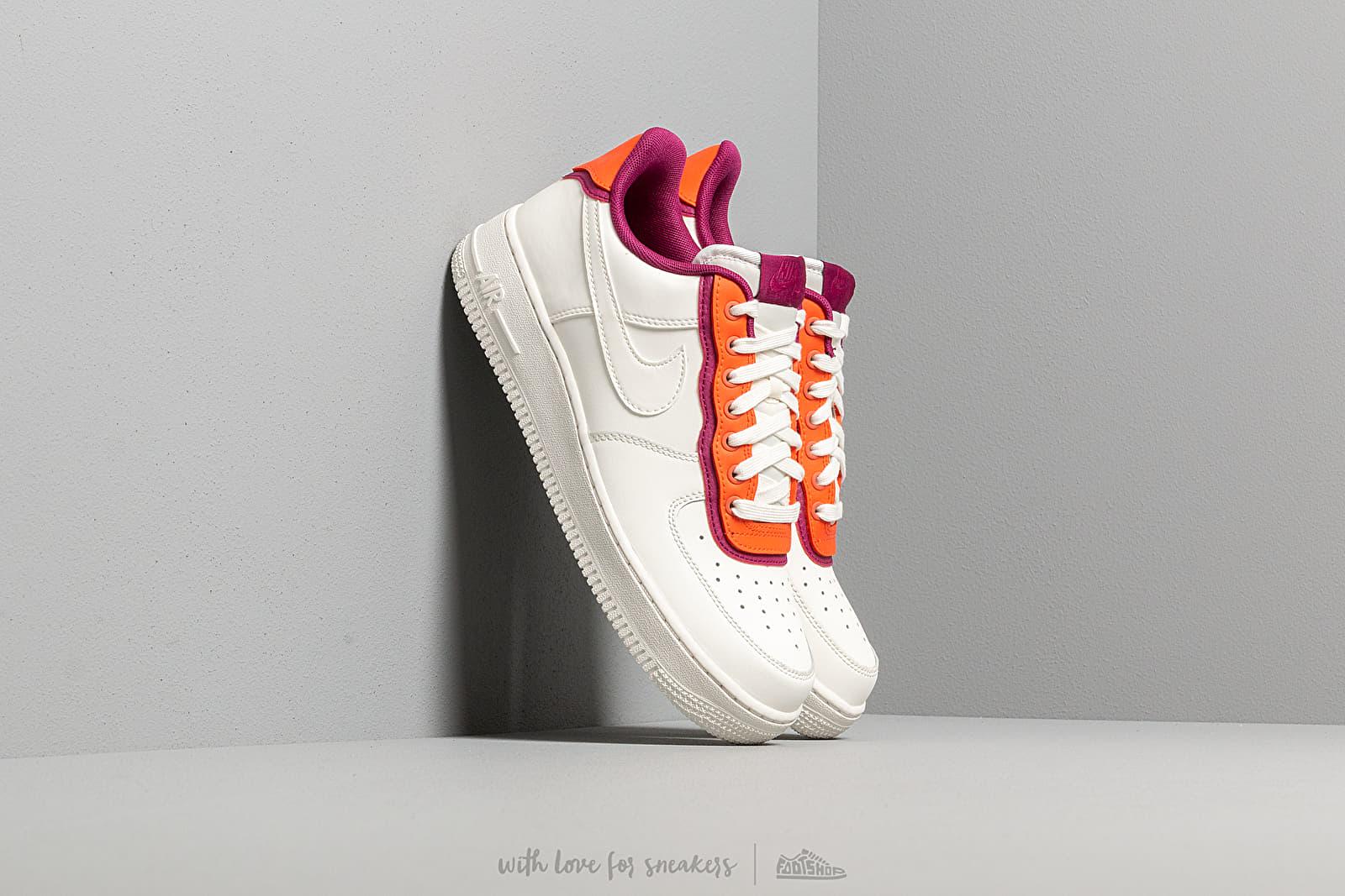 75bebb8a1a3 Nike Air Force 1  07 Lv8 1 Sail  Sail-Team Orange-True Berry