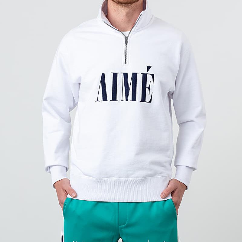 Aimé Leon Dore Quarter Zip Pullover White XL