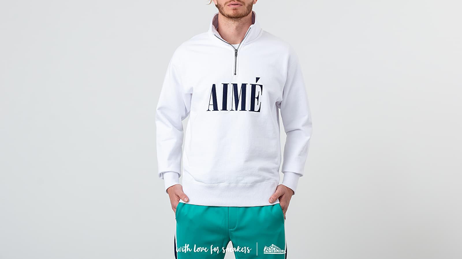 Sudaderas y suéteres Aimé Leon Dore Quarter Zip Pullover White