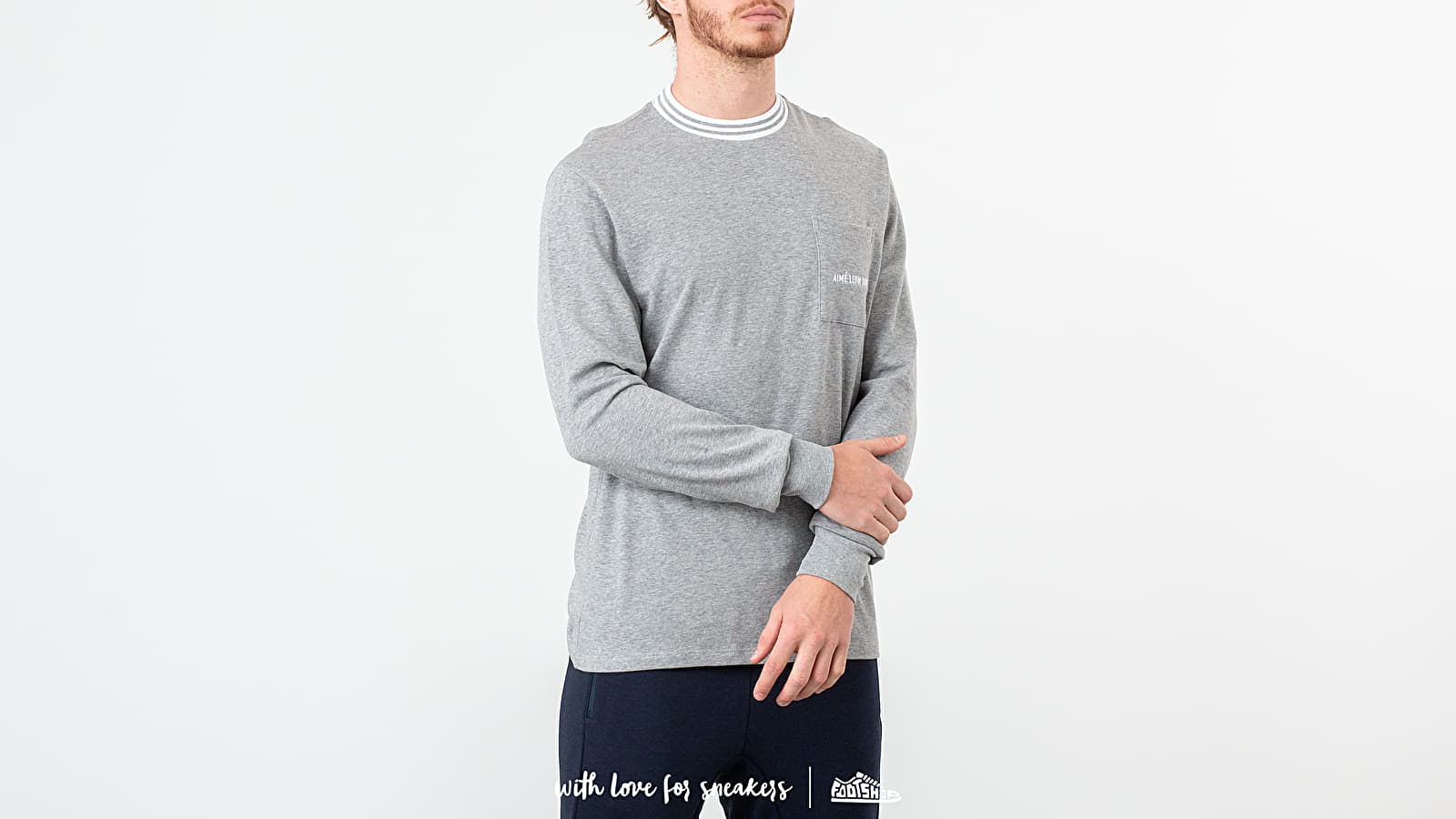 Aimé Leon Dore Long Sleeve Collar Tee