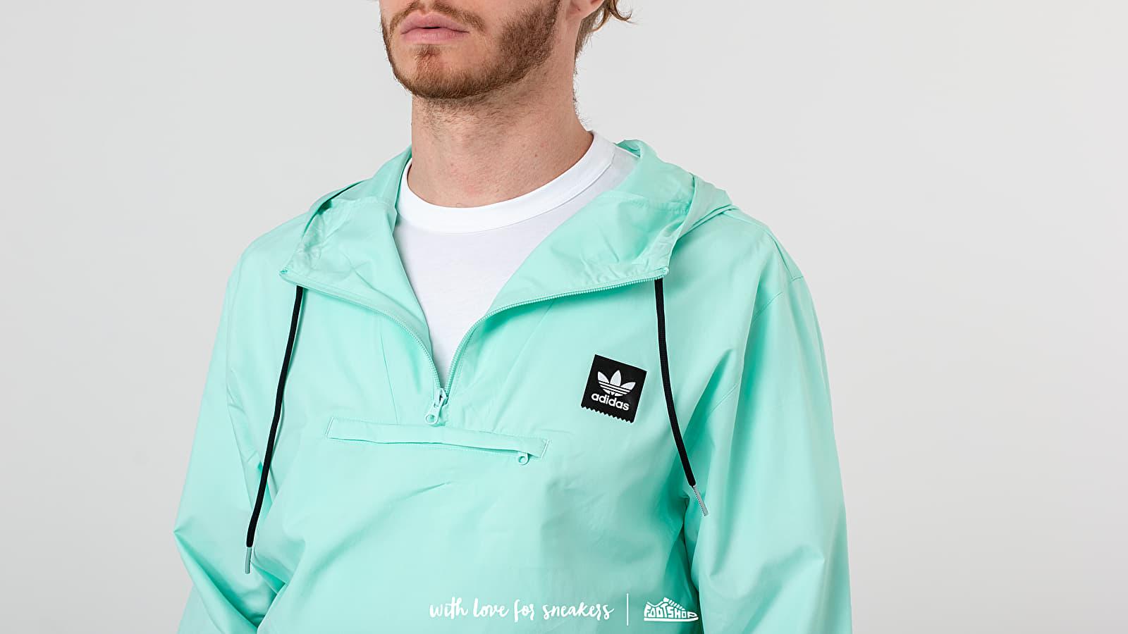 Adidas Hip Jacket Clear Mint Black | Footshop