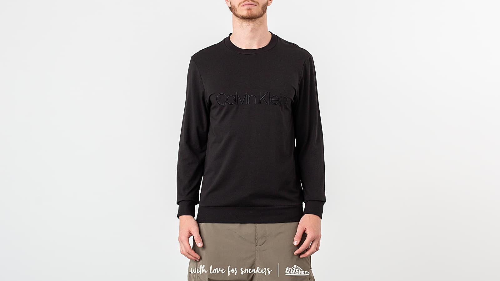 Calvin Klein L/S Sweatshirt Black at a great price 73 € buy at Footshop