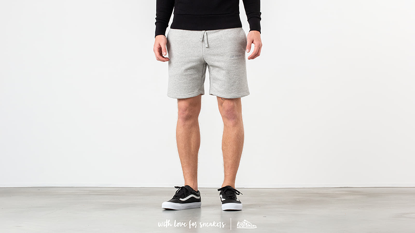 Shorts Aimé Leon Dore French Terry Shorts Heather Grey