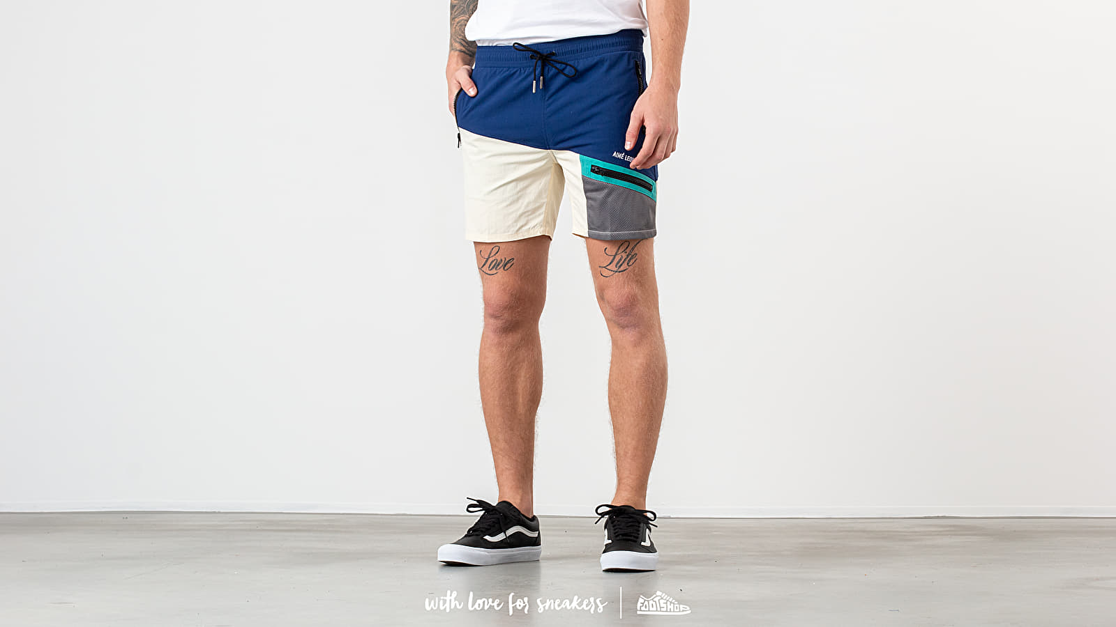 Aimé Leon Dore Zipper Pocket Shorts