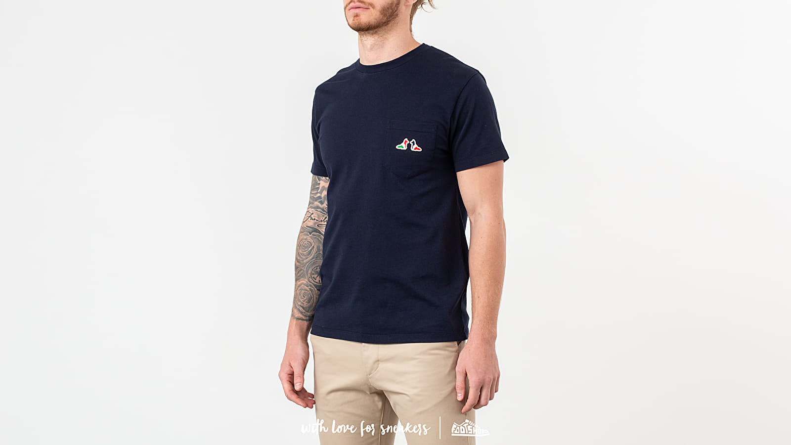 MAISON KITSUNÉ Resting Fox Patch T-Shirt