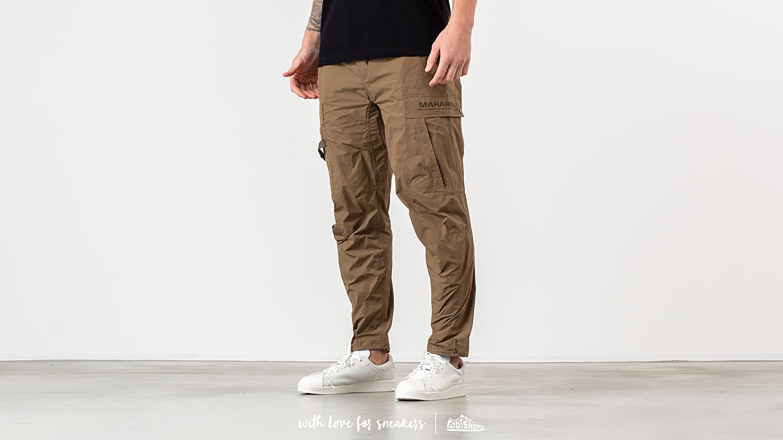 Pants and jeans maharishi Onibegie Cargo Trackpants Olive