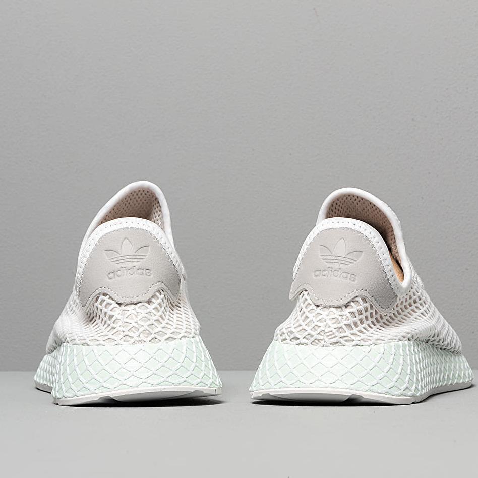 adidas Deerupt Runner Grey One/ Ftw White/ Ice Mint, Gray