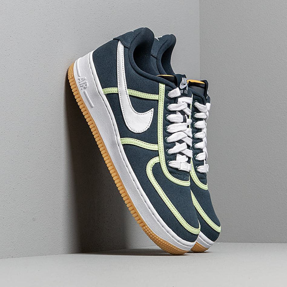 Nike Air Force 1 '07 Premium Armory Navy/ White-Barely Volt EUR 45.5