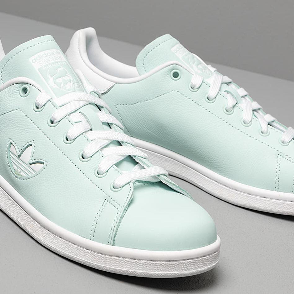 adidas stan smith mint green white