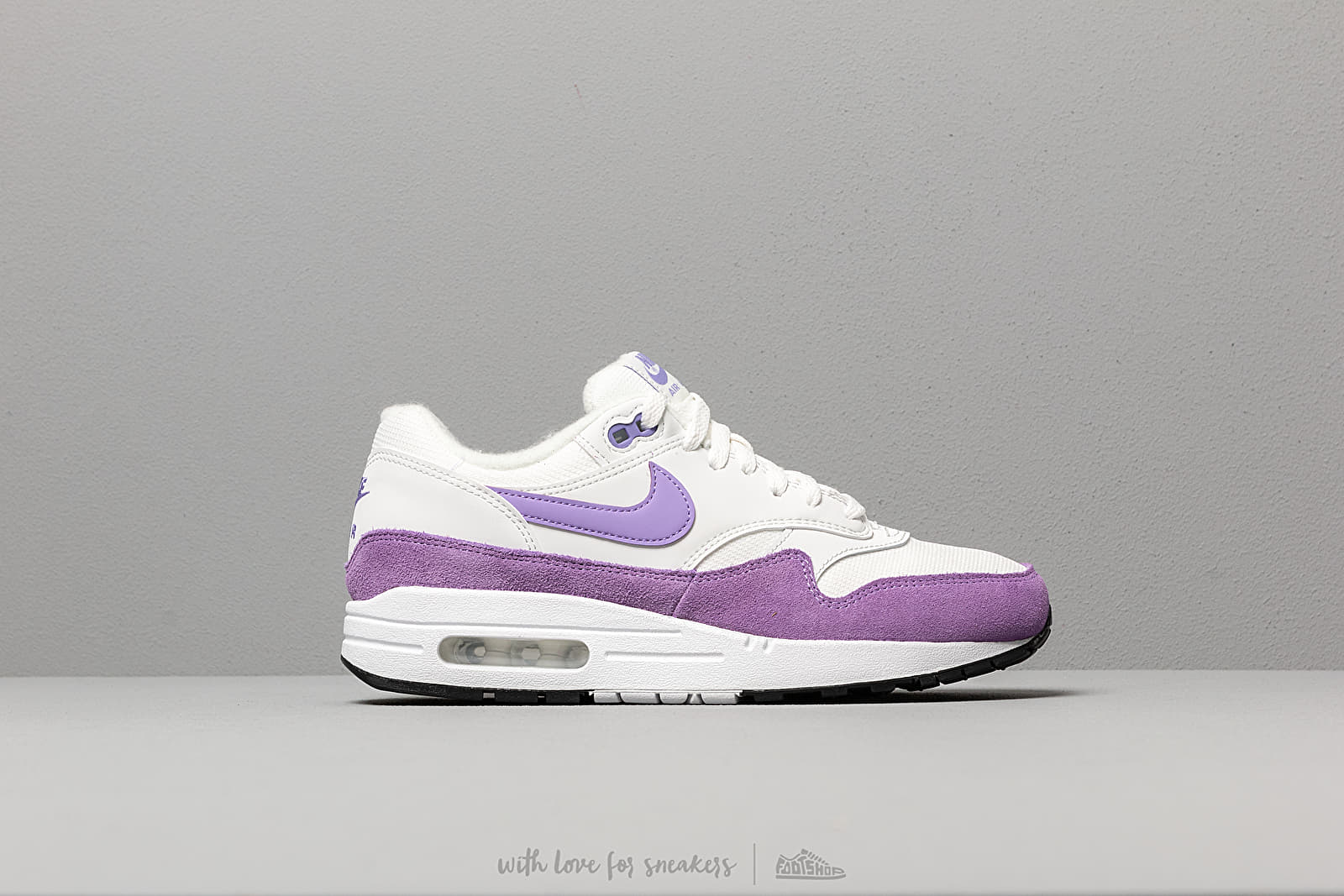 c816208492 Nike Wmns Air Max 1 Summit White/ Atomic Violet-Black at a great price