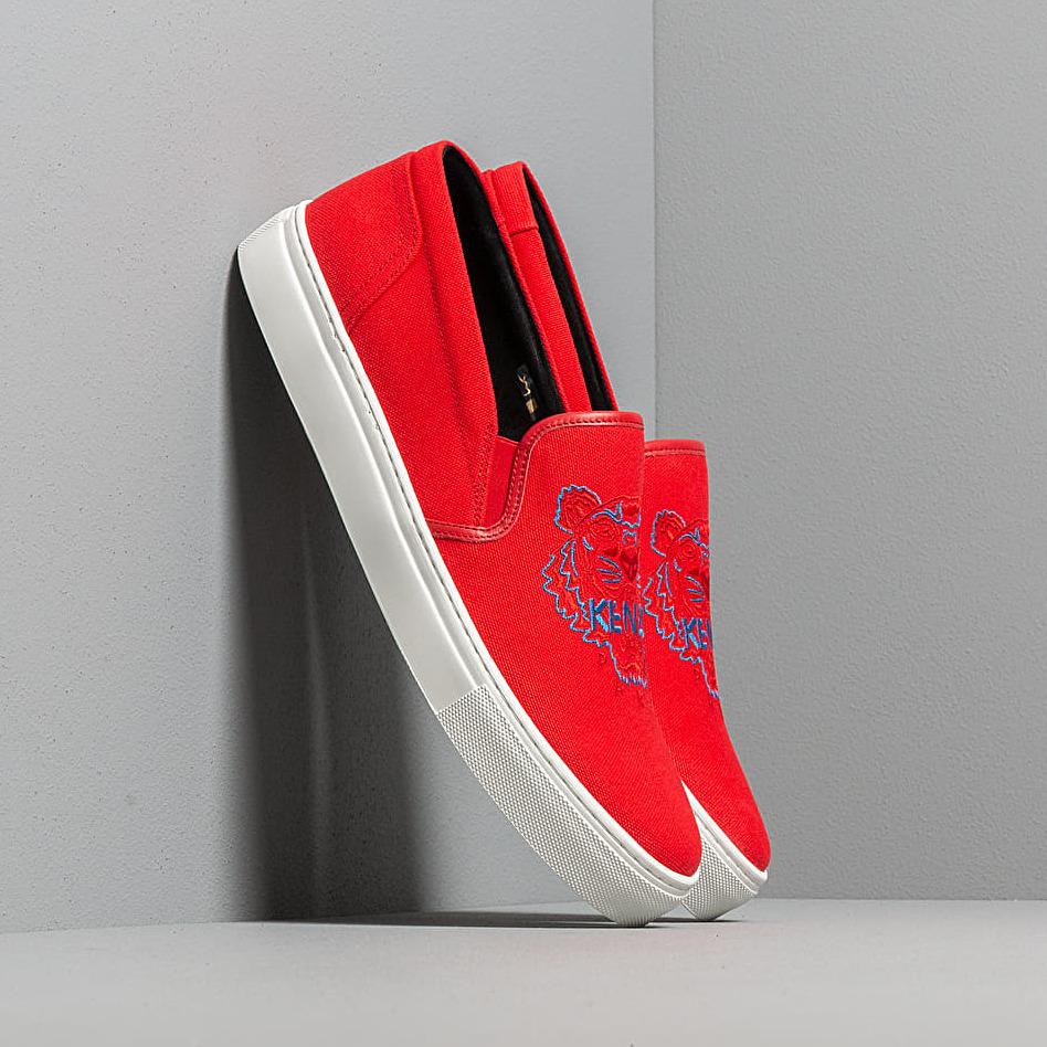 KENZO K-Skate Sneakers Medium Red