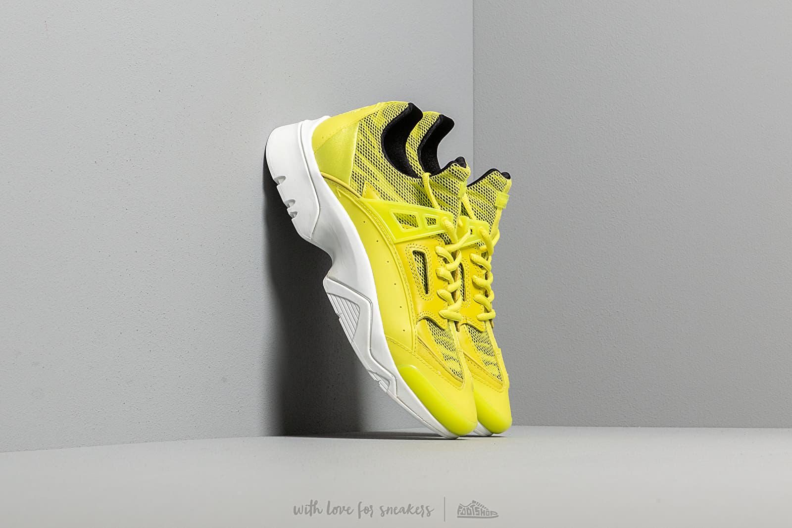 Дамски кецове и обувки KENZO Sonic Sneakers Lemon