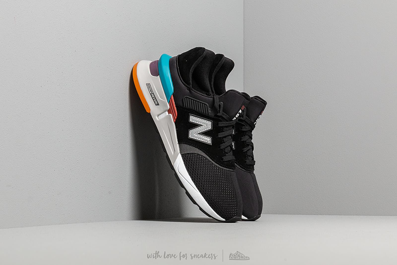 En la madrugada trabajo duro Retorcido  Men's shoes New Balance 997 Black/ Grey/ Multicolor