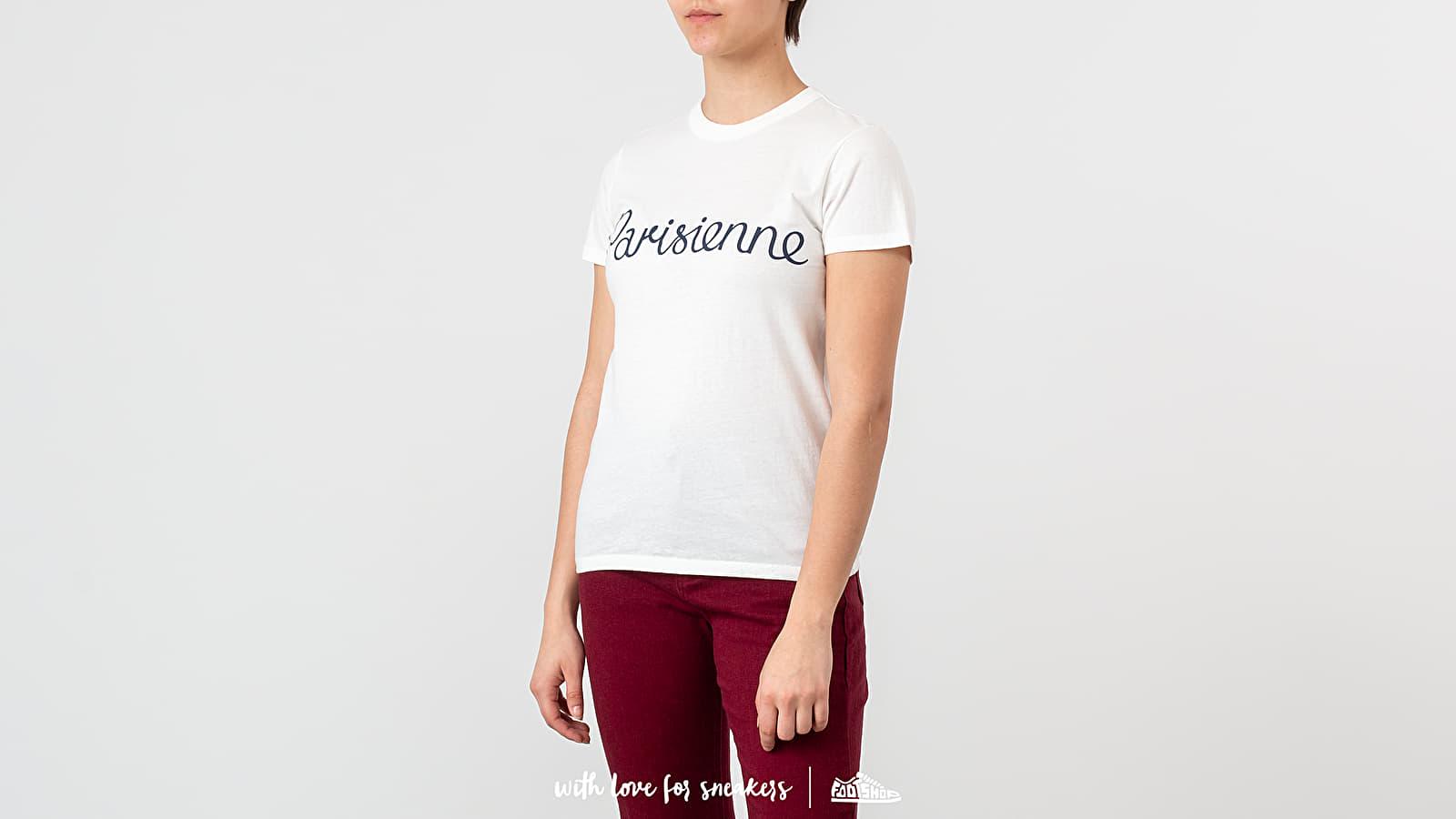 T-shirts MAISON KITSUNÉ Parisienne Tee Latte