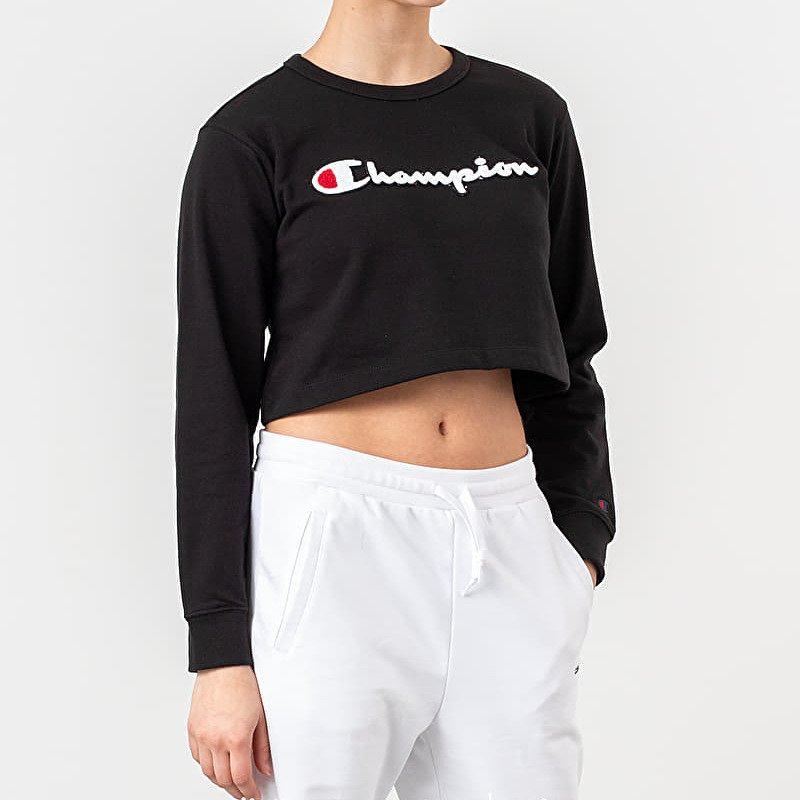 Champion Crewneck Sweatshirt Black
